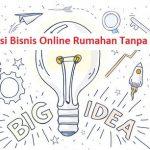 inspirasi bisnis online gratis tanpa modal terpercaya